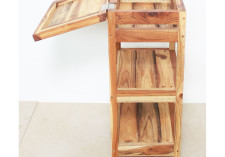 Teak Storage Shelf