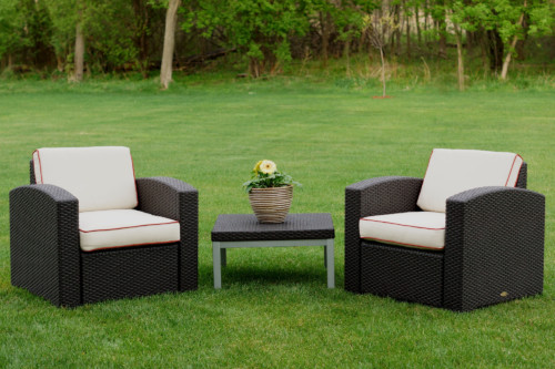 Cielo Patio Two Chairs & Table Set