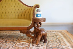 Elephant Chang Accent Table